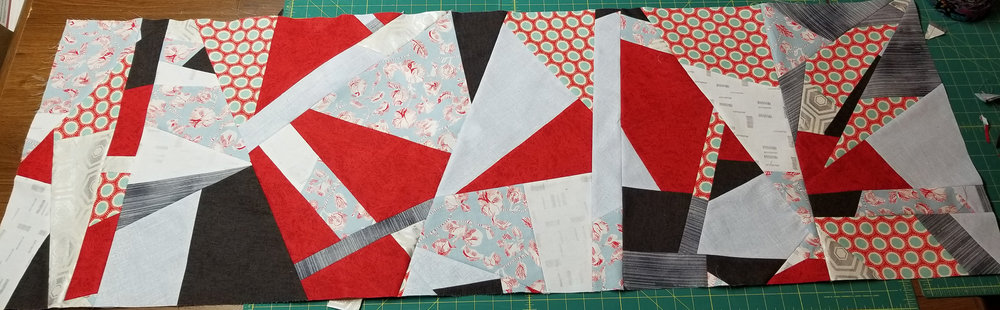 Angie's pieced fabric