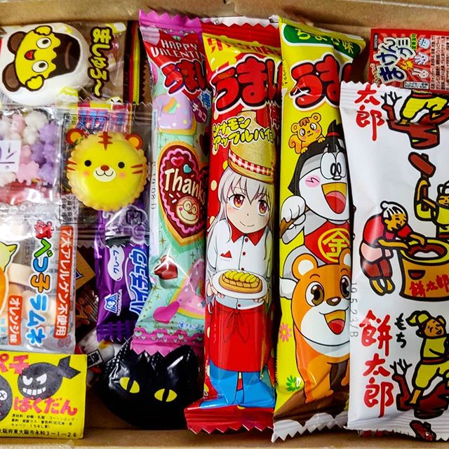 Interesting treats this week, all the way from Japan! 🇯🇵