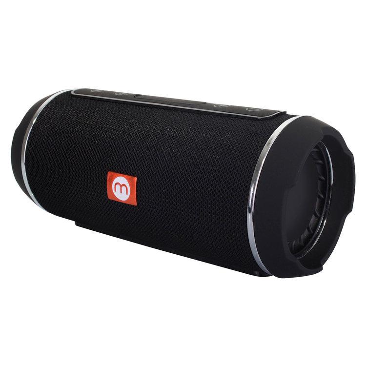Parlante Bluetooth Anti Salpicaduras. - Potencia de salida 5 x 2 watts / Respuesta de frecuencia 150Hz-20KHz · Batería 3.7V 1200mAh / Tiempo de carga: 1.5-2 horas / Carga en pc mediante cable USB / Versión bluetooth: V3.0+EDR / Distancia Bluetooth 10 metros.