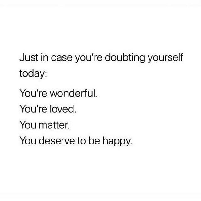 Quick reminder 💫