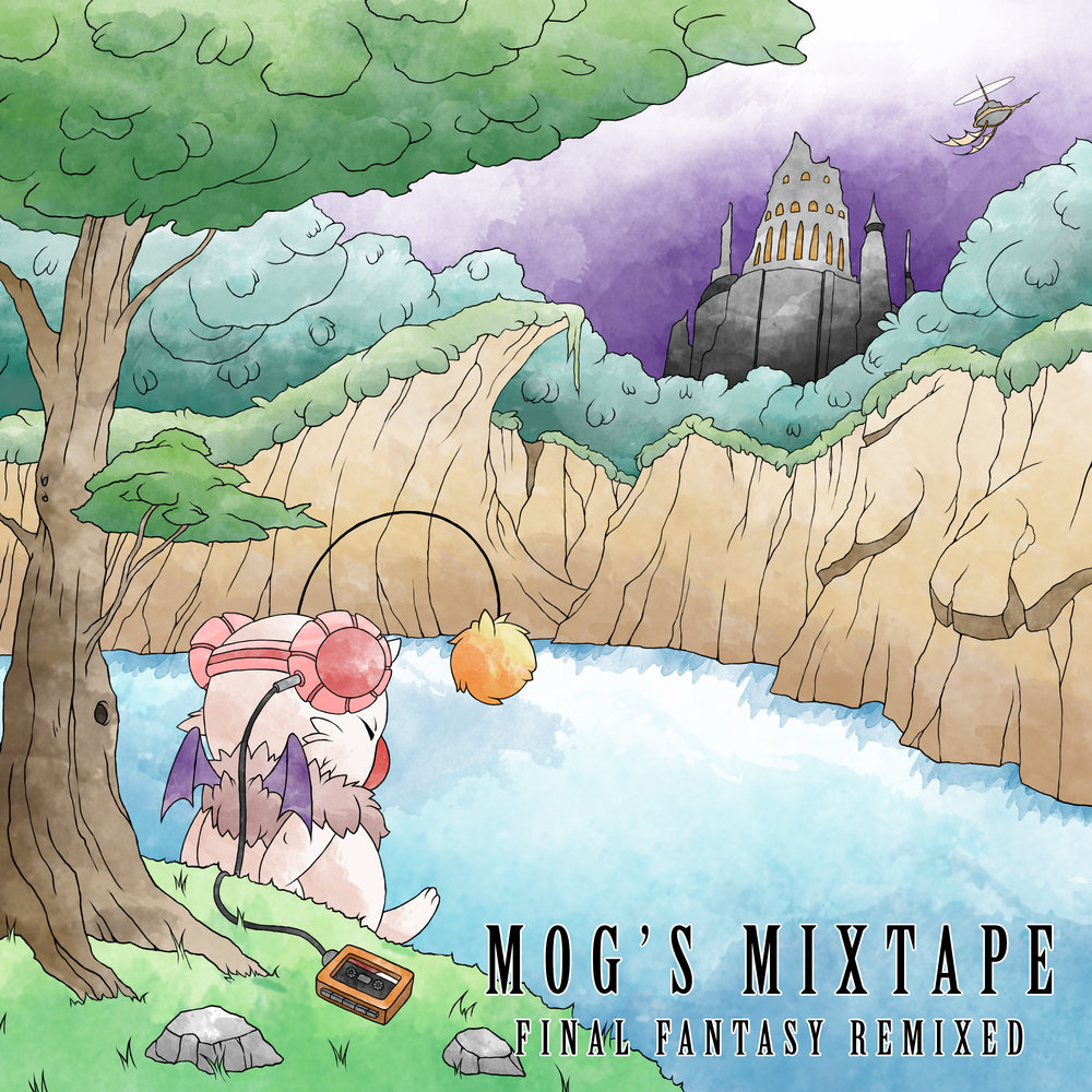 Mog's Mixtape album art done by Ian Murray