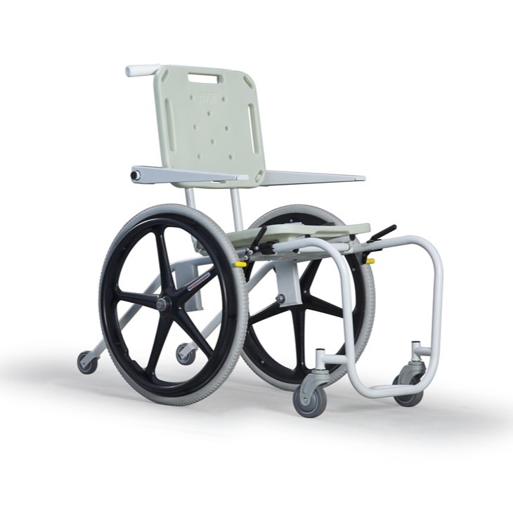 A MAC aquatic wheelchair from S.R. Smith.