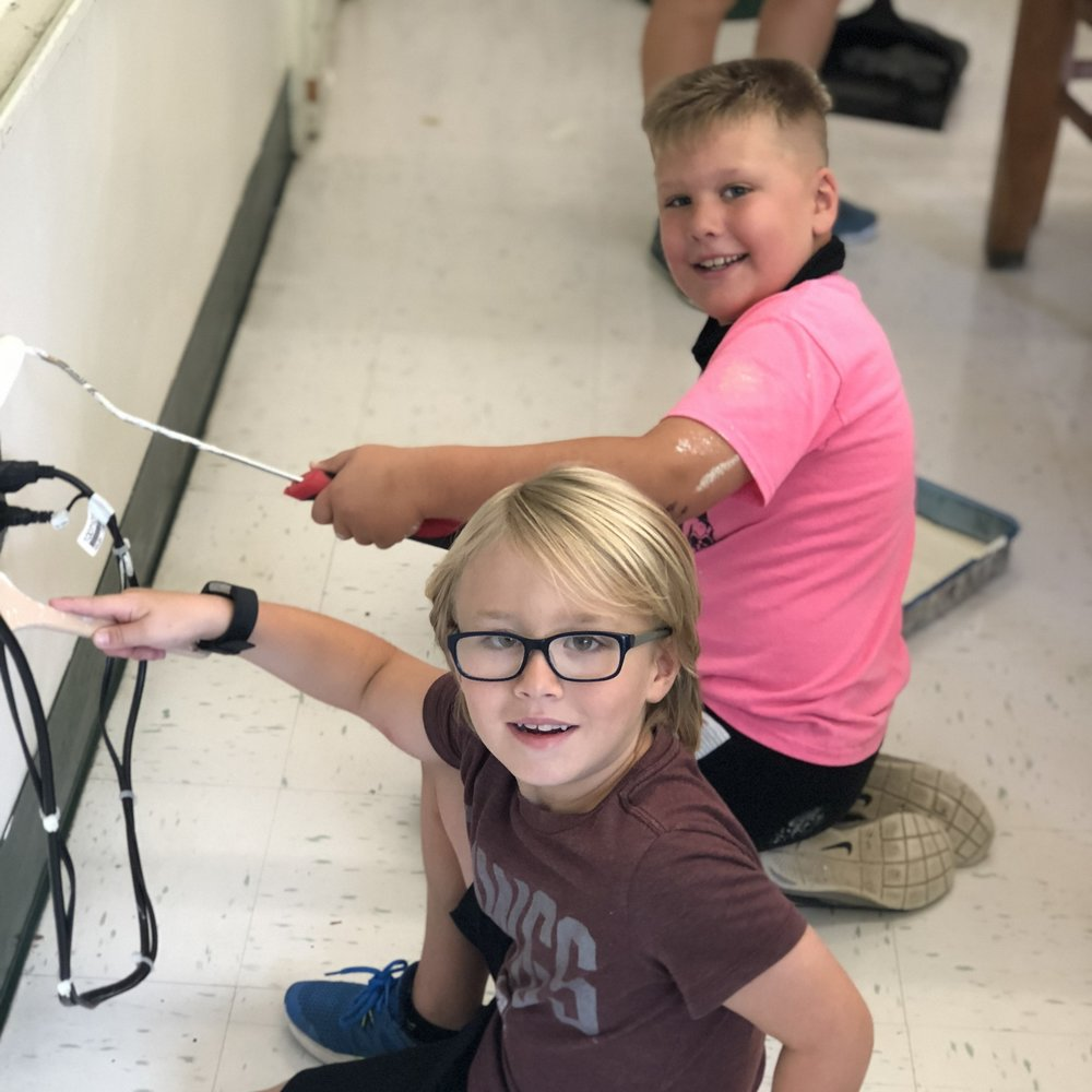 """In August, Fondren Church held a serve day at Walton Elementary School where we painted, cleaned, and worked on multiple projects."" - In Our City. For Our City."