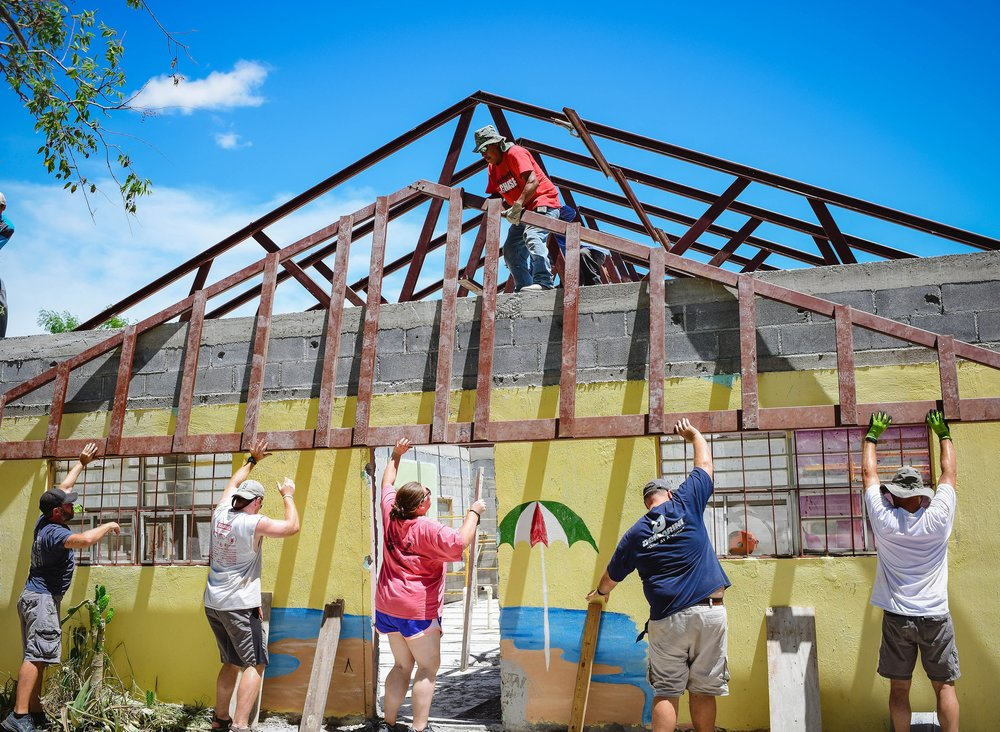 - Fondren Church traveled to Matamoros, Mexico and built a roof on a home that will house orphans.
