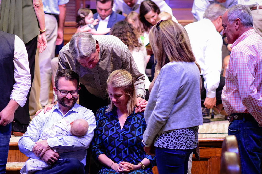 Kids Dedication - Recent birth in your family? We as a church want to celebrate together the birth of each new child.