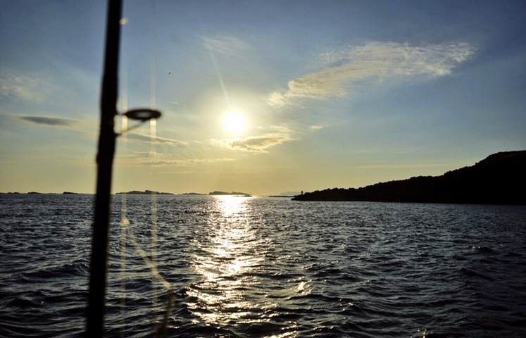 The magical north coast of Ireland at sunrise