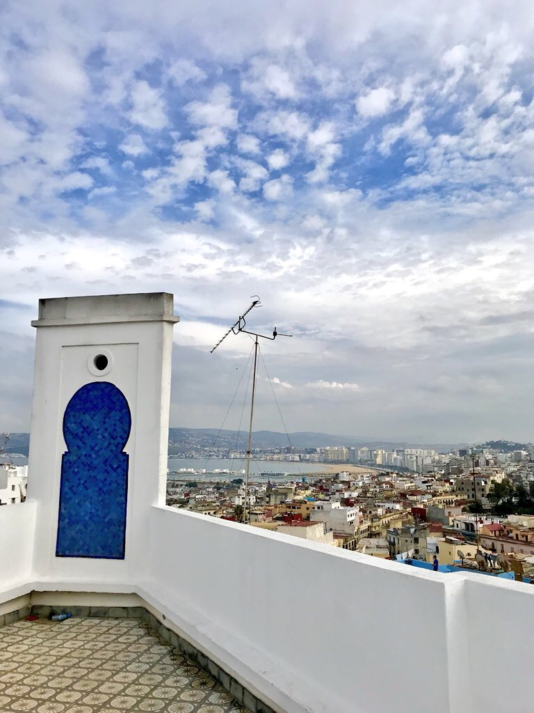 Tangier, Morocco - When leaving the EU has you on the edge of your seat, and we're not talking brexit.The sights, sounds and scent of Africa.
