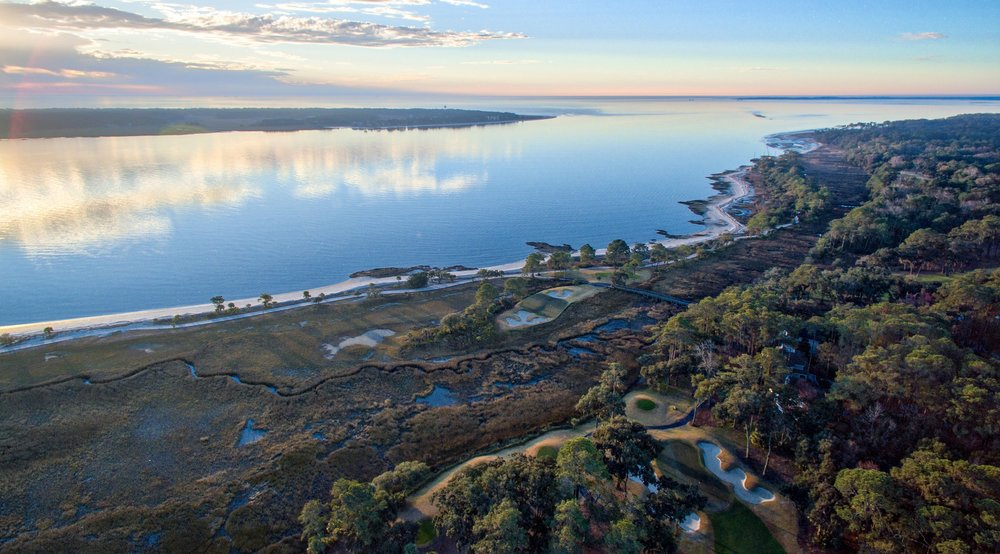 Aerial View of Daufuskie Island
