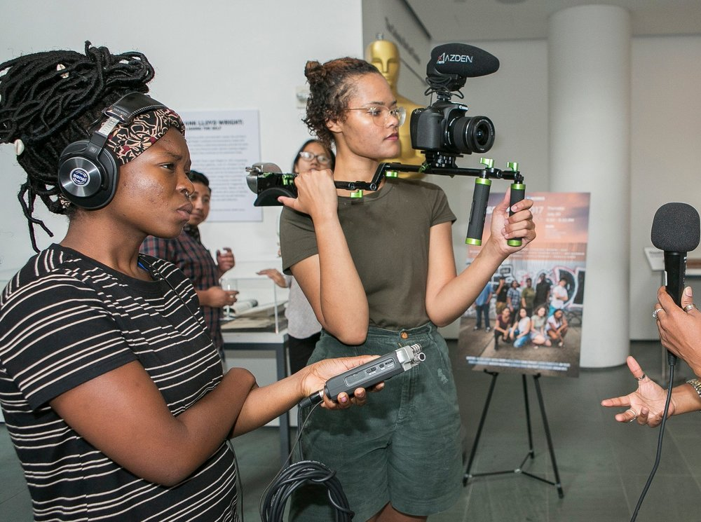 Reel Works Filmmakers Are… - Ages 16-2450% Female95% People of Color100% Driven