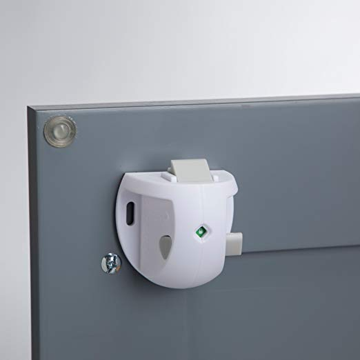 Magnetic cabinet locks - We use these to keep the kids out of most of our kitchen cabinets. We really didn't want something visible externally since we just did a kitchen remodel. These work great. Install will take about 5 minutes each.