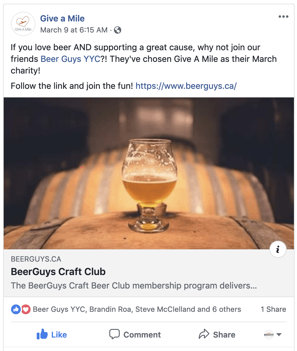 Give-a-mile-beerguys-testimonial.png