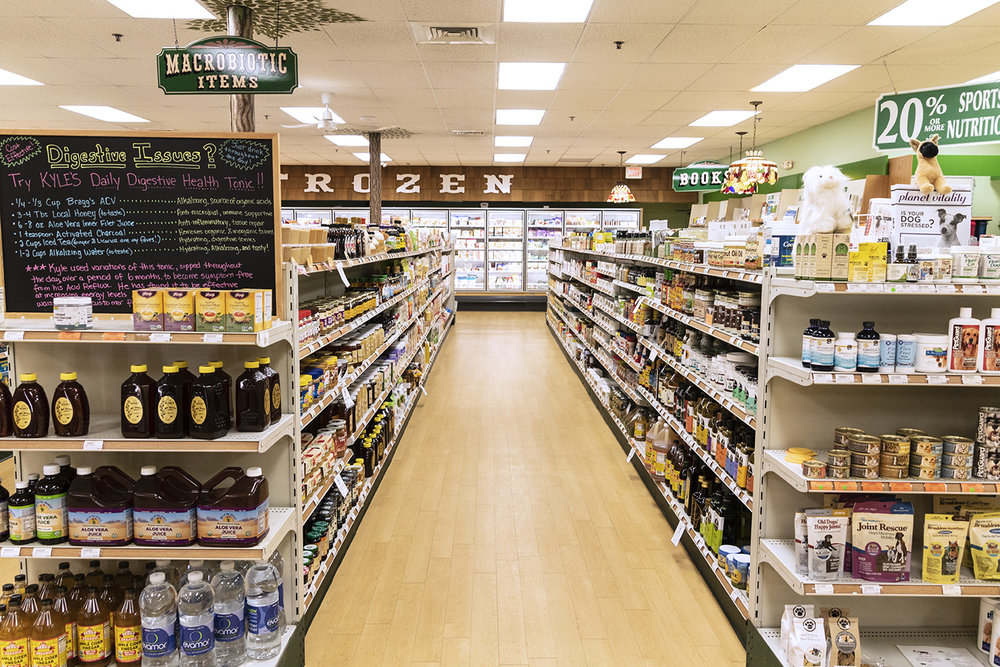 Manchester Parkade Health Shoppe Aisle 4 Health Foods.jpg