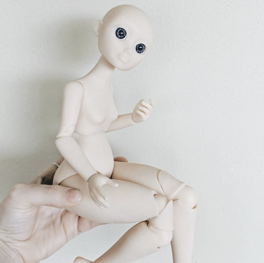 "Boudi Doll - 16"" Ball Jointed Resin Doll - PreOrders Coming Soon"