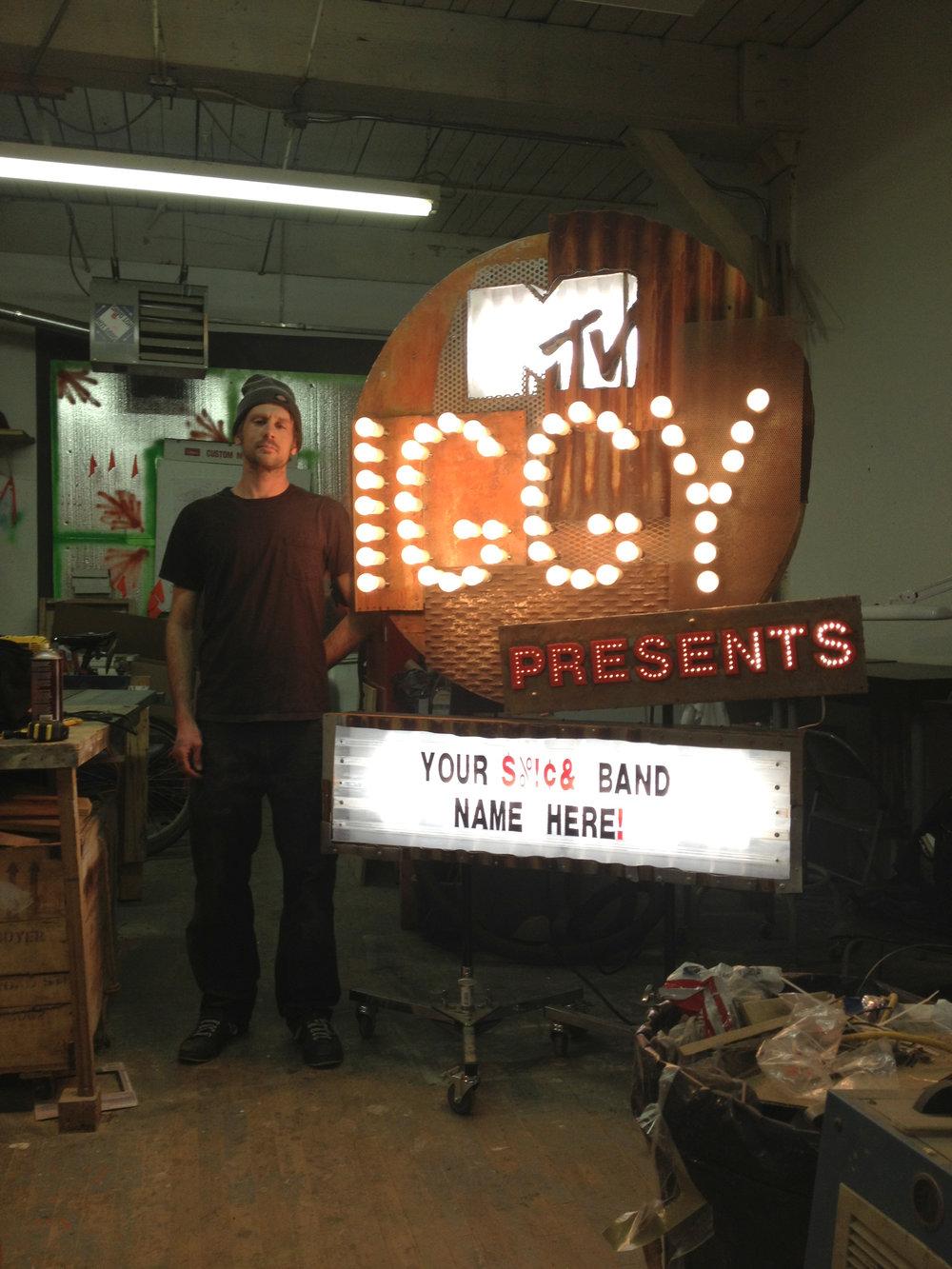 MTV IGGY Best New Bands Setpiece, 2013