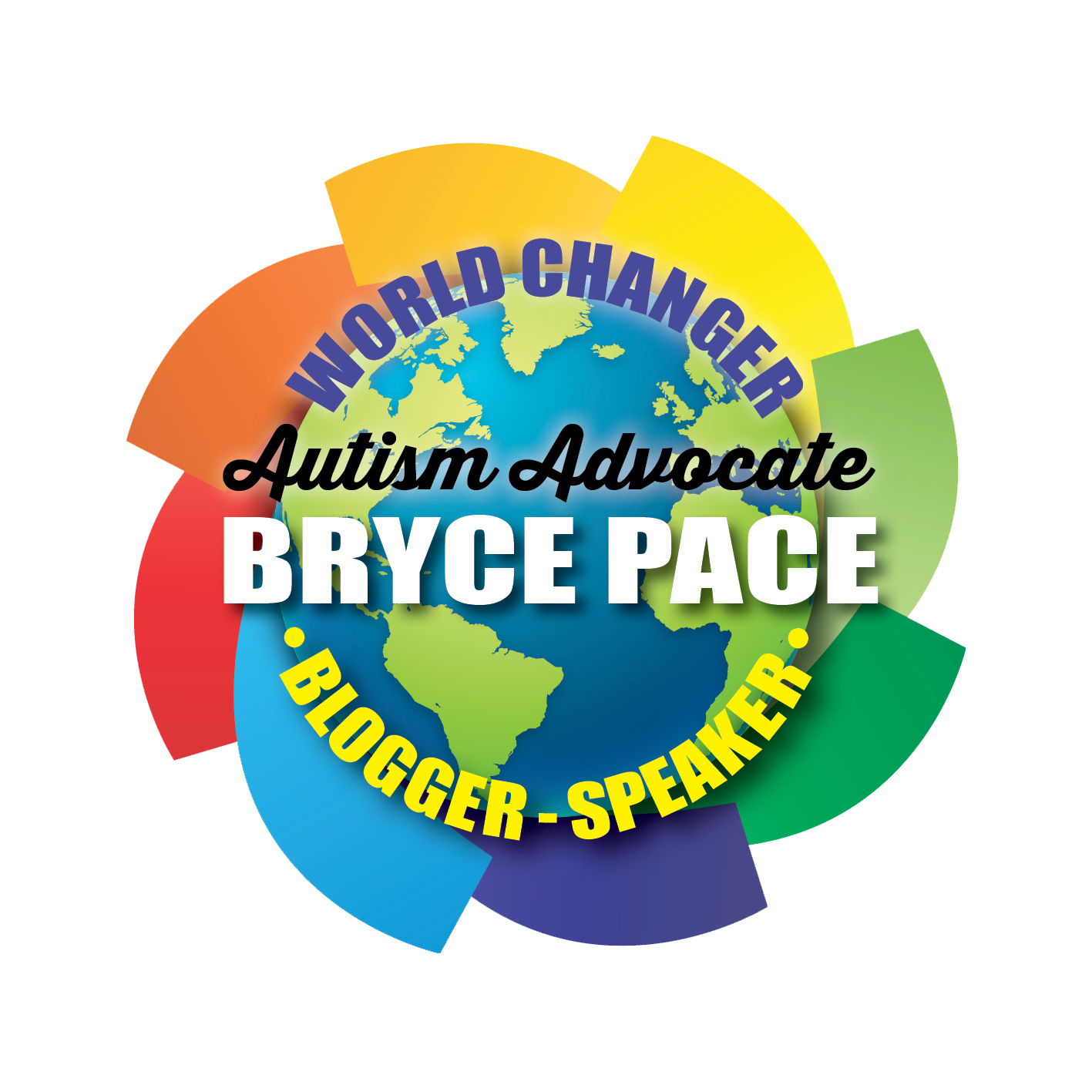 Bryce Pace Autism Advocate Logo