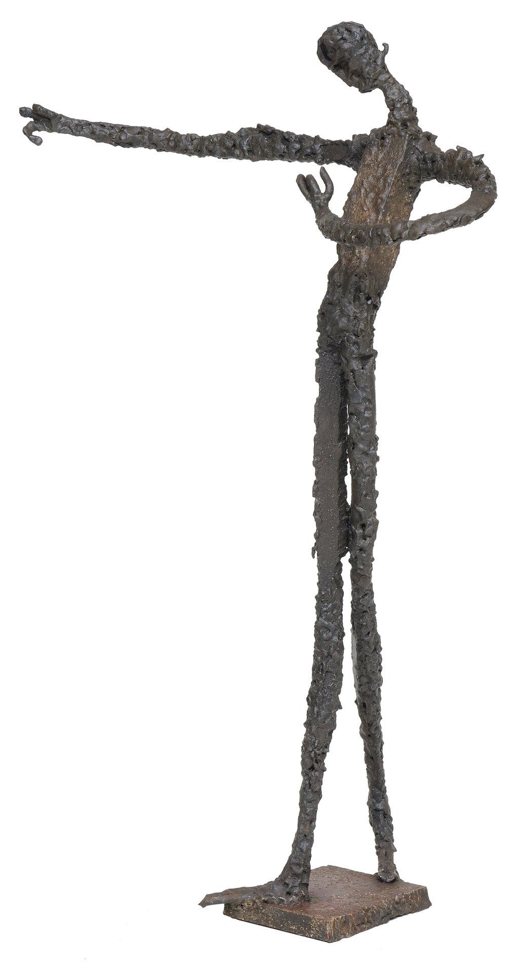 The Matador    aço soldado  80 X 49 cm