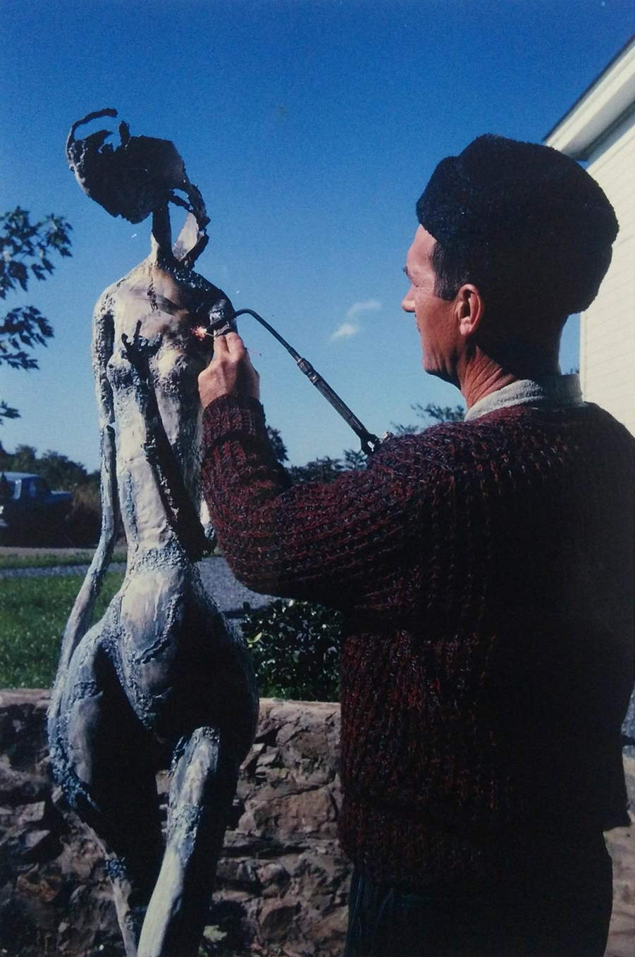 Robert E. Kuhn - Sculpture process_1.jpg