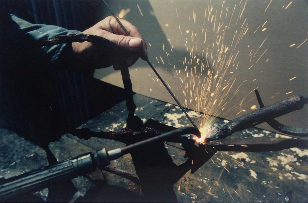 Robert E. Kuhn - Welded Steel Sculpture process_4.jpg
