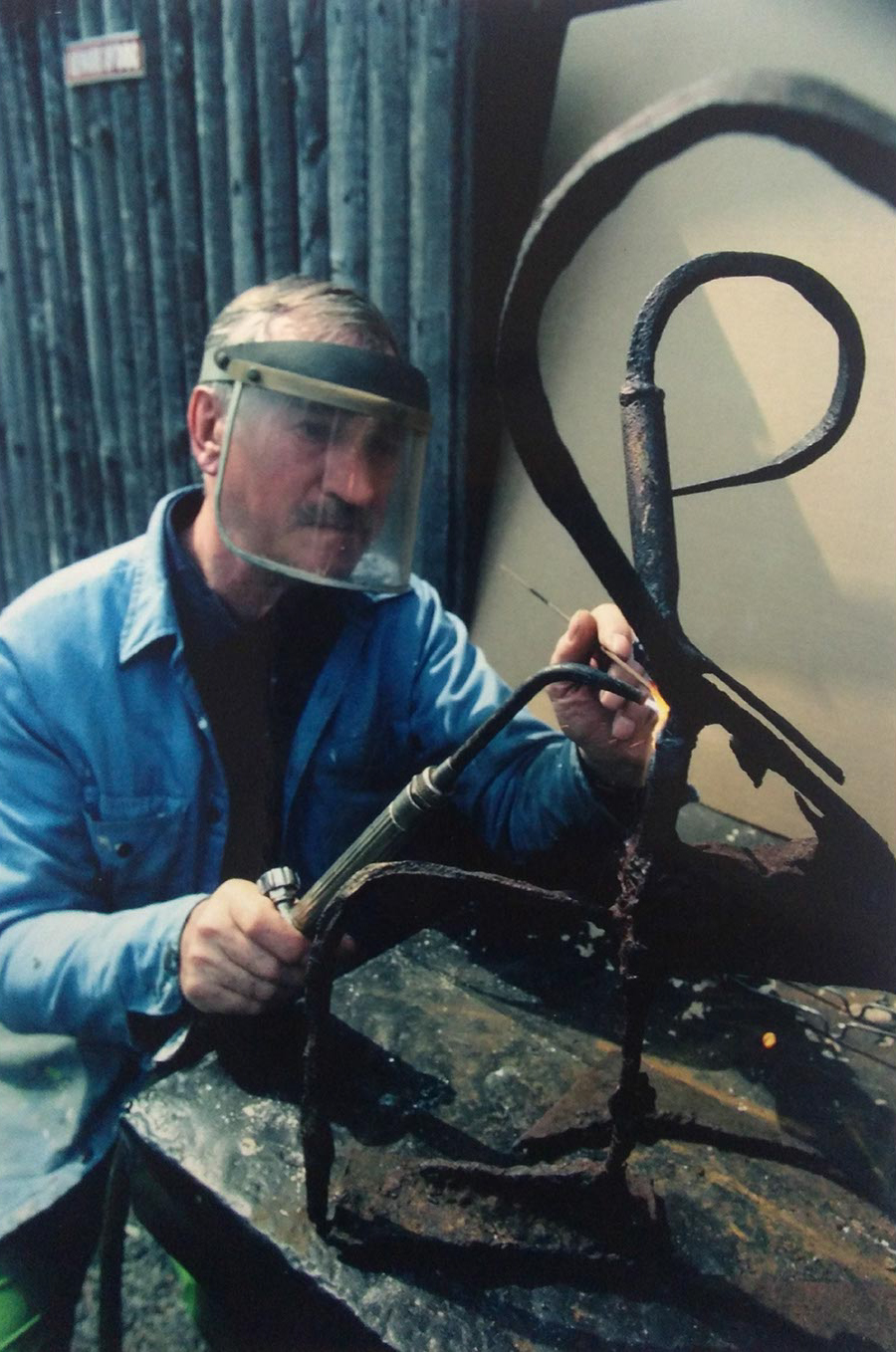 Robert E. Kuhn - Welded Steel Sculpture process_5.jpg