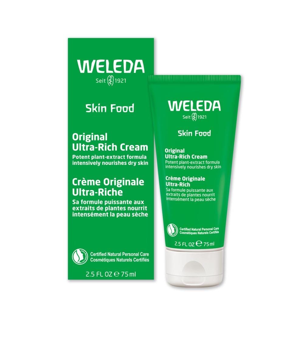Weleda Body Lotion & Skin Food, Available at Weleda
