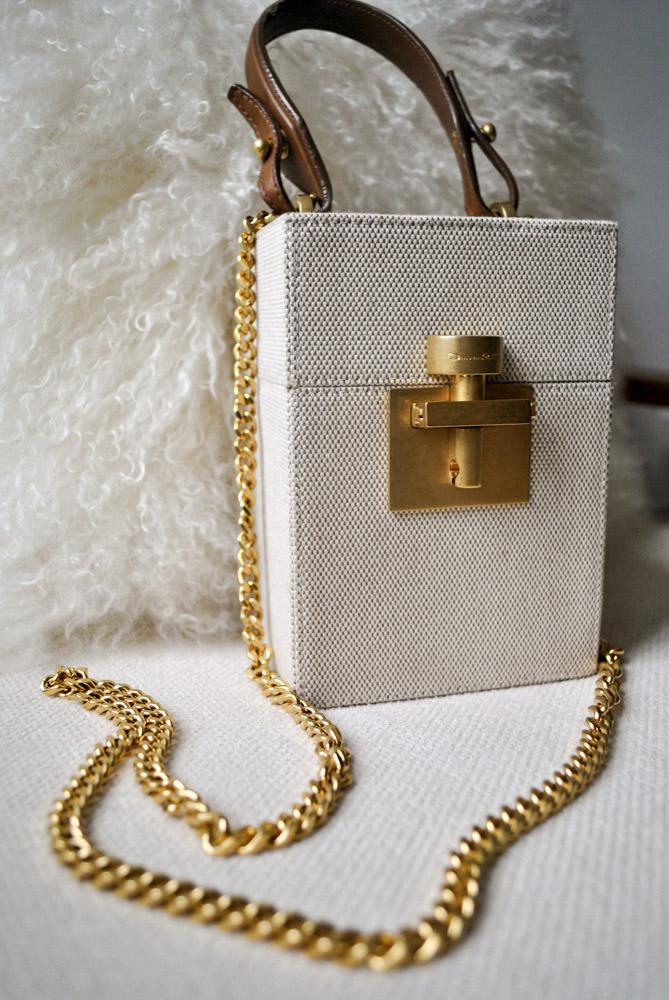 Oscar de la Renta Alibi Bag, Available at oscardelarenta