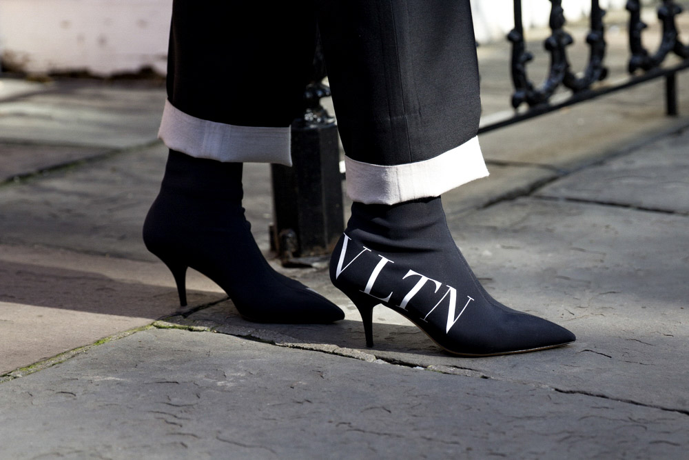 Valentino Ankle Boot, Available at Valentino
