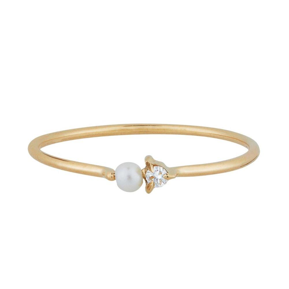 Catbird Dewdrop Ring, Available at Catbird