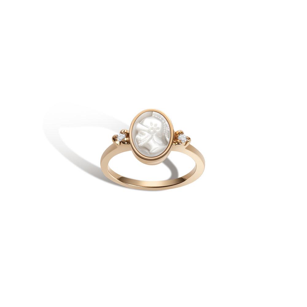 Gillian Steinhardt Intaglio No. 5 Athena Ring