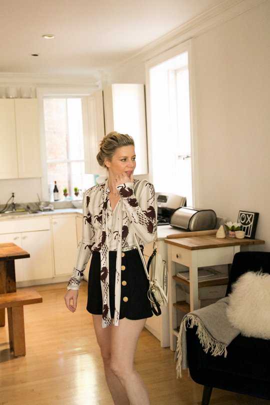 CHLOE blouse, available at chloe