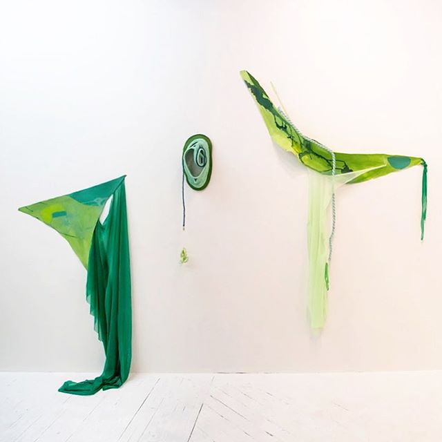 ~~🥬~~ Artifacts from Many Shades of Green (4 u) installation 📷 @michelle_gevint