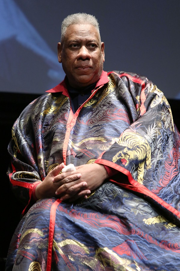 André Leon Talley. Photo: Kristina Bumphrey from Starpix.