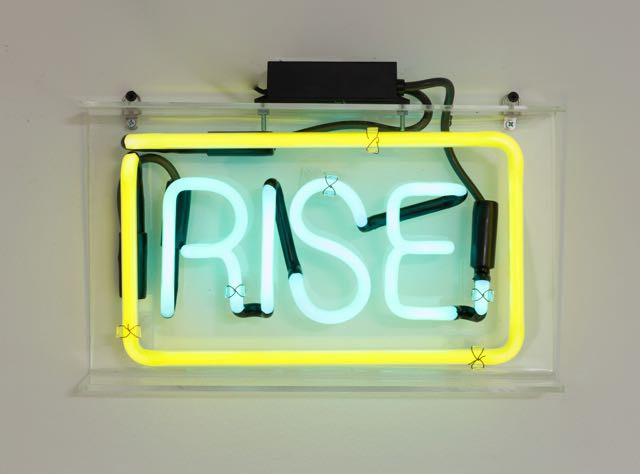 """Rise"" by Patrick Martinez for We Buy Gold in NYC."