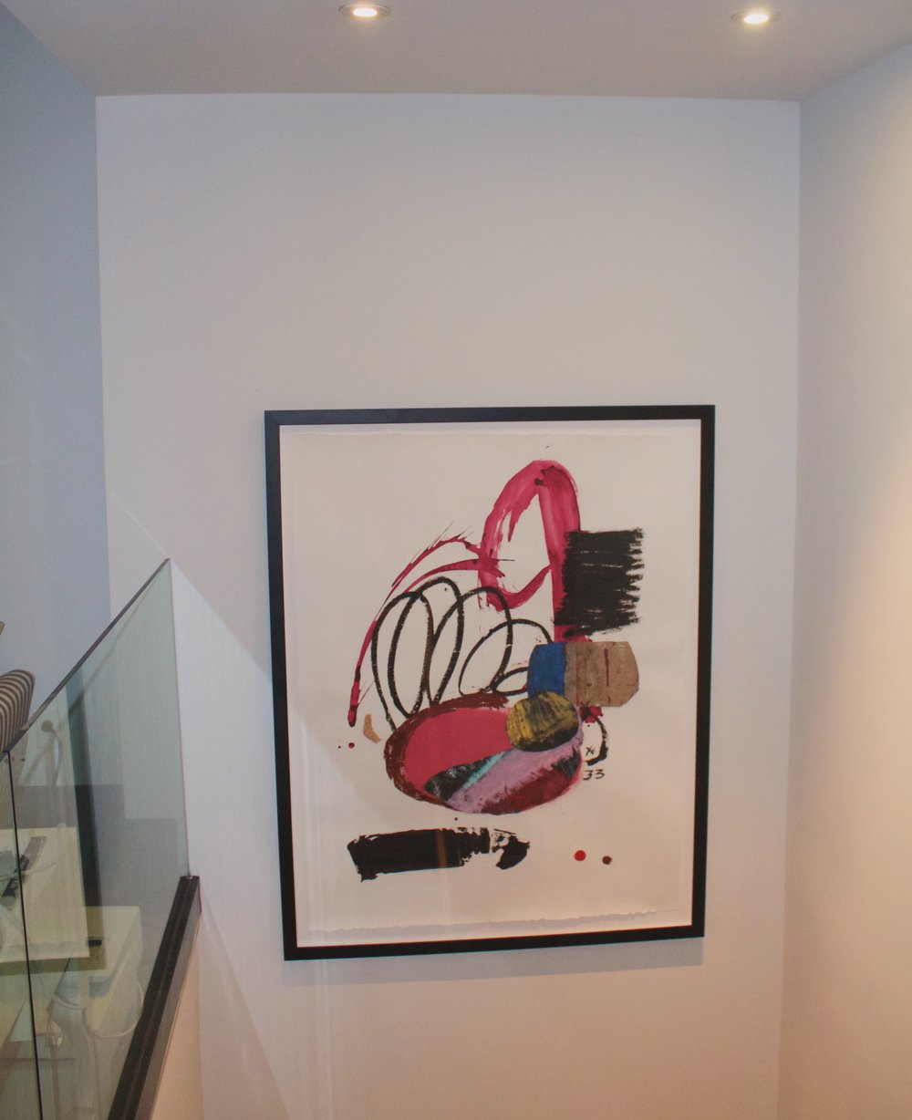Patrick Eugene Abstract Art on Paper