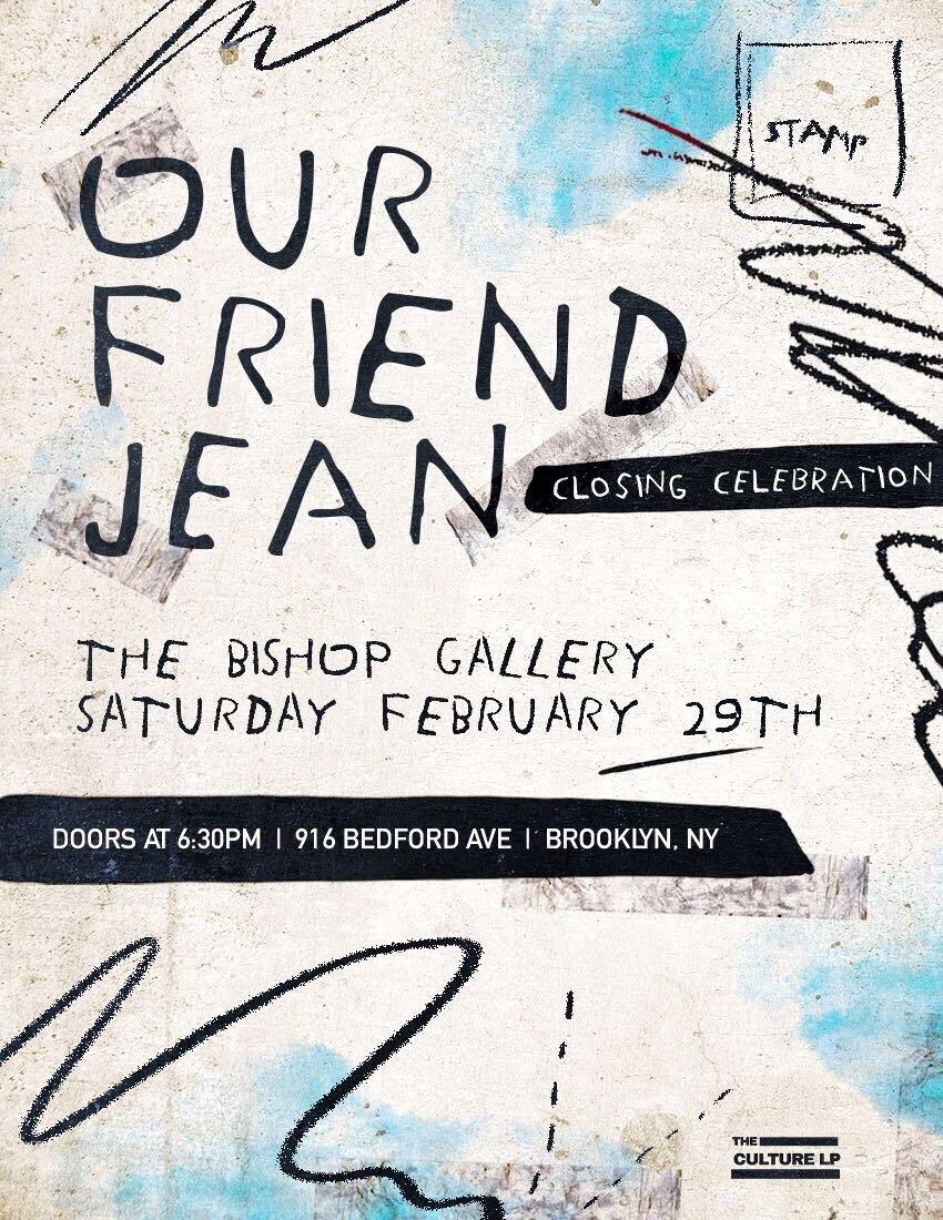 "A Closing Celebration for ""Our Friend Jean"" — The Culture LP"