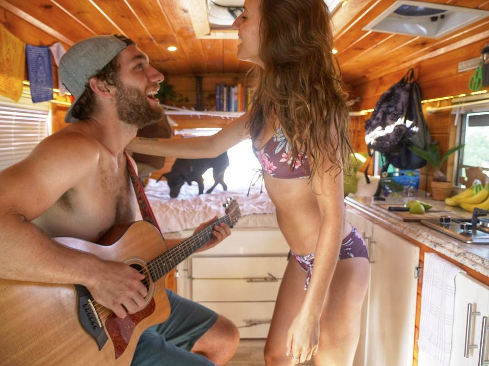 The Nomadic Movement - Kaylee, Jordan and Lola are traveling across the United States in a self converted 2004 GMC 20 ft school bus conversion creating and sharing stories on YouTube about travel, braking away from social norms and philanthropy