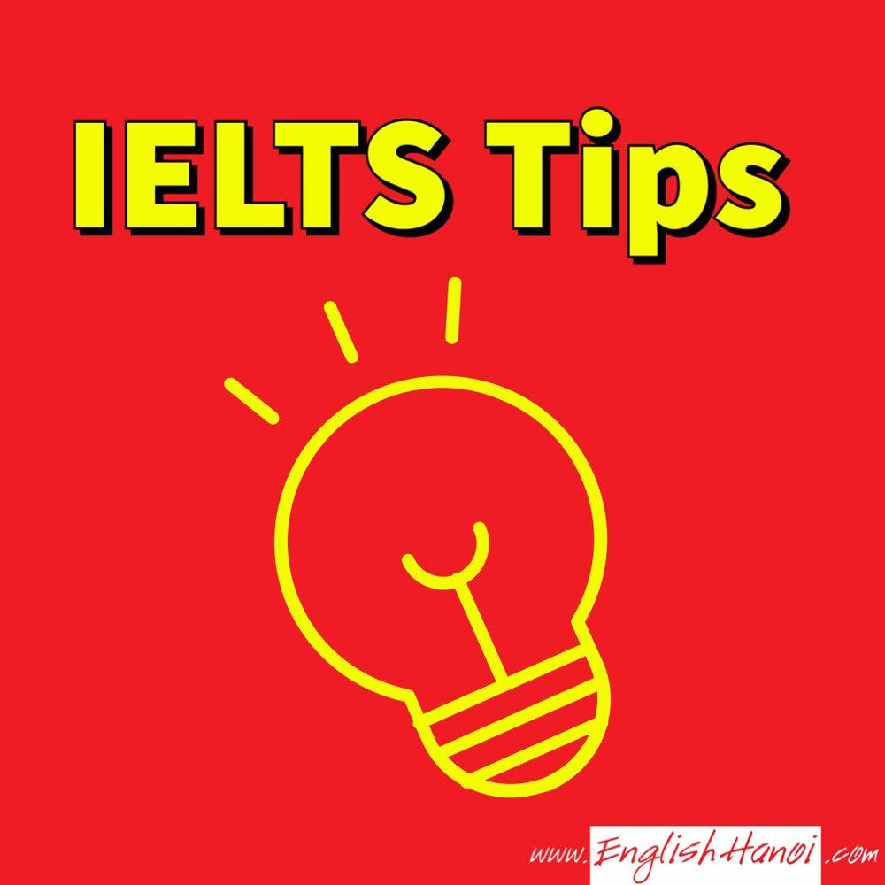 Mẹo thi IELTS    Hệ thống chiến lược và chiến thuật làm bài thi IELTS sẽ được trình bày trong mục này bao gồm 4 kỹ năng: Nghe, Nói, Đọc, Viết.