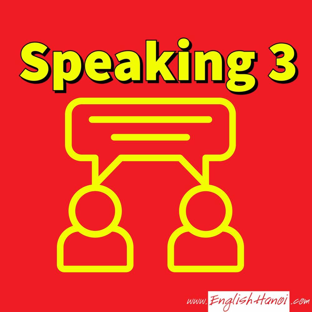 IELTS Speaking Phần 3    Các dạng câu hỏi phổ biến và cách trả lời của phần 3 IELTS speaking sẽ được tìm thấy trong mục này. Hệ thống video giúp bạn nâng cao band điểm nhanh chóng