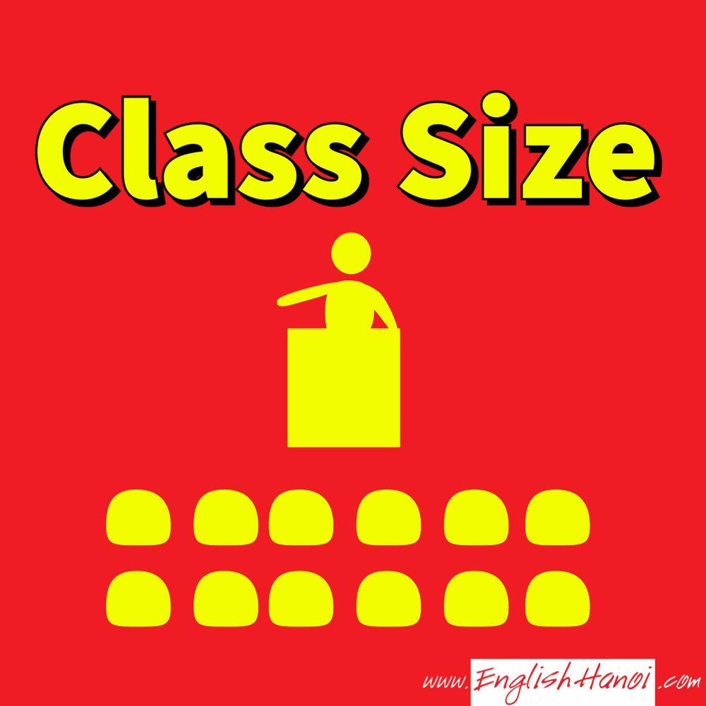 Sĩ số lớp học   15 bạn trong một lớp học