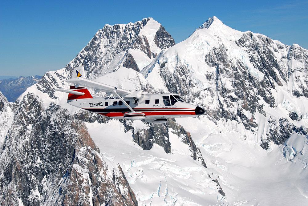Grand Traverse Mount Cook Scenic Flight -