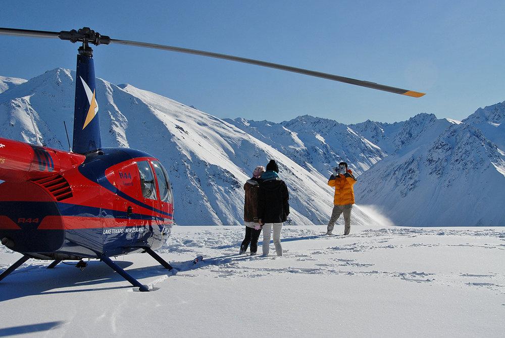 Mount Cook Fox and Franz Magic Scenic Flight -