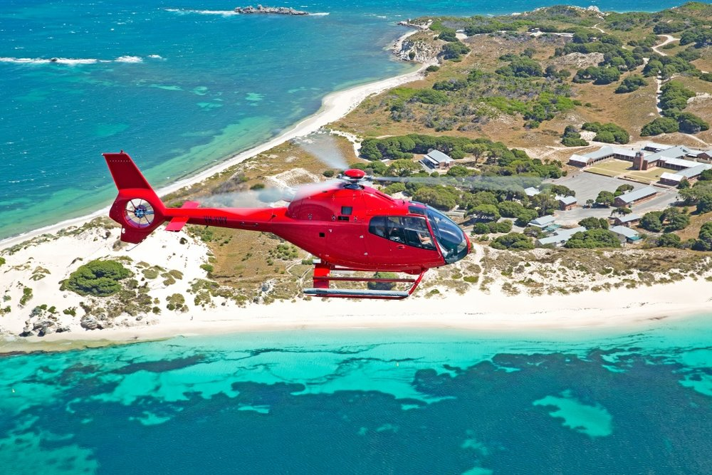 Rottnest Island Helicopter/Ferry Package -