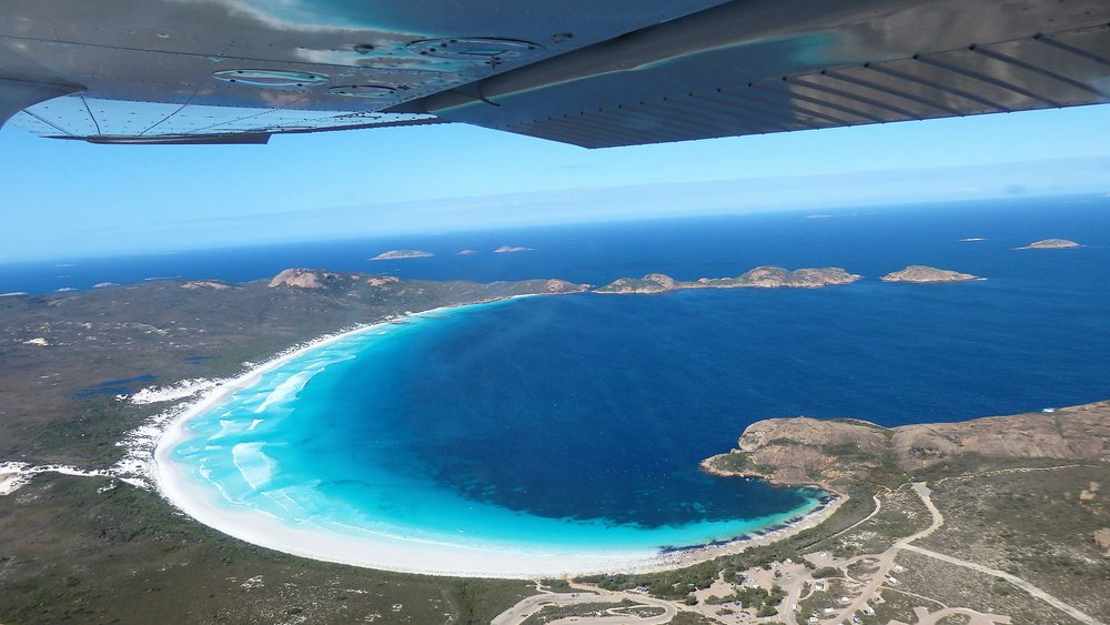 "Lucky Bay, ""Whitest sand beach in Australia"""