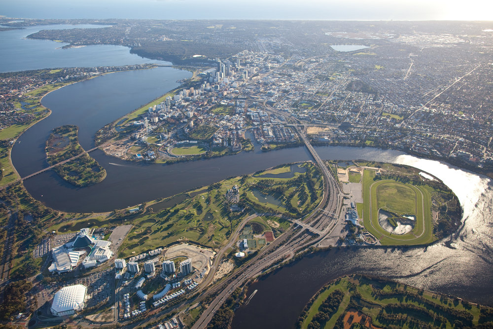 Copy of Perth aerial shot