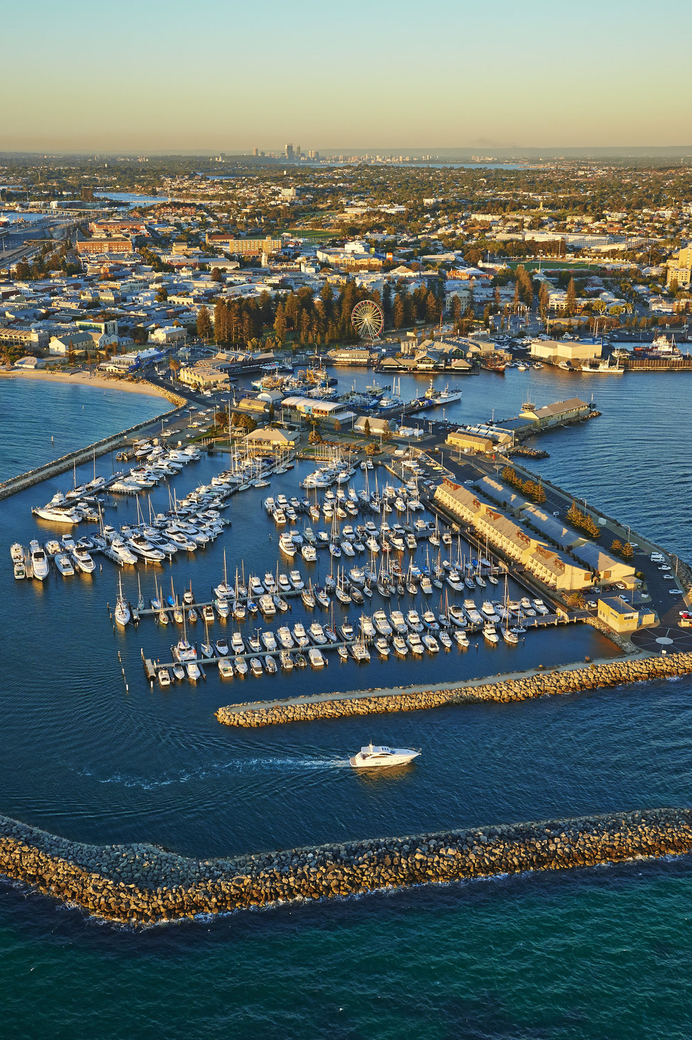Copy of Aerial view of Fremantle