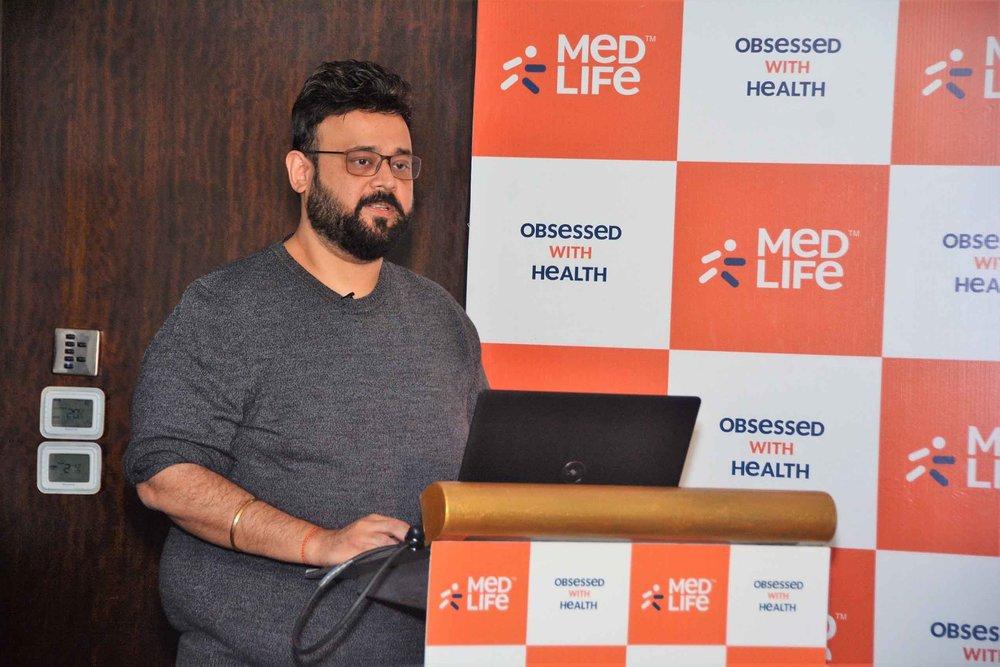 Tushar Kumar, Founder & CEO, Medlife