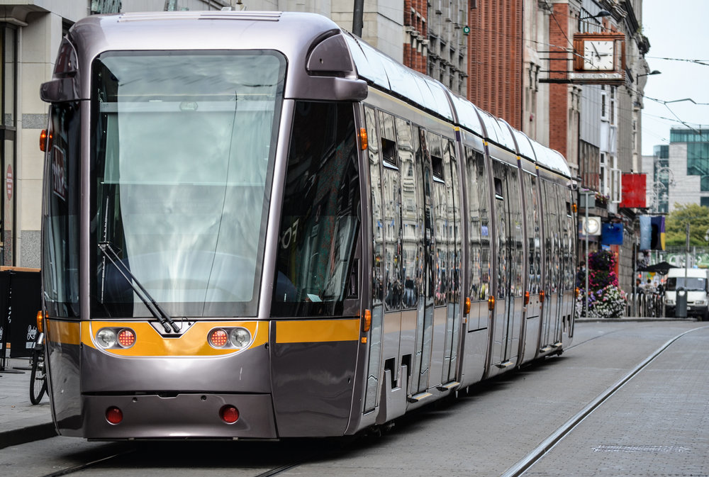 Dublin trams - Travel information, route maps and timetables for Dublin trams ('Luas').