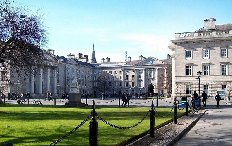 Trinity College. Image Credit: Photo by Eric Jones for Wikipedia