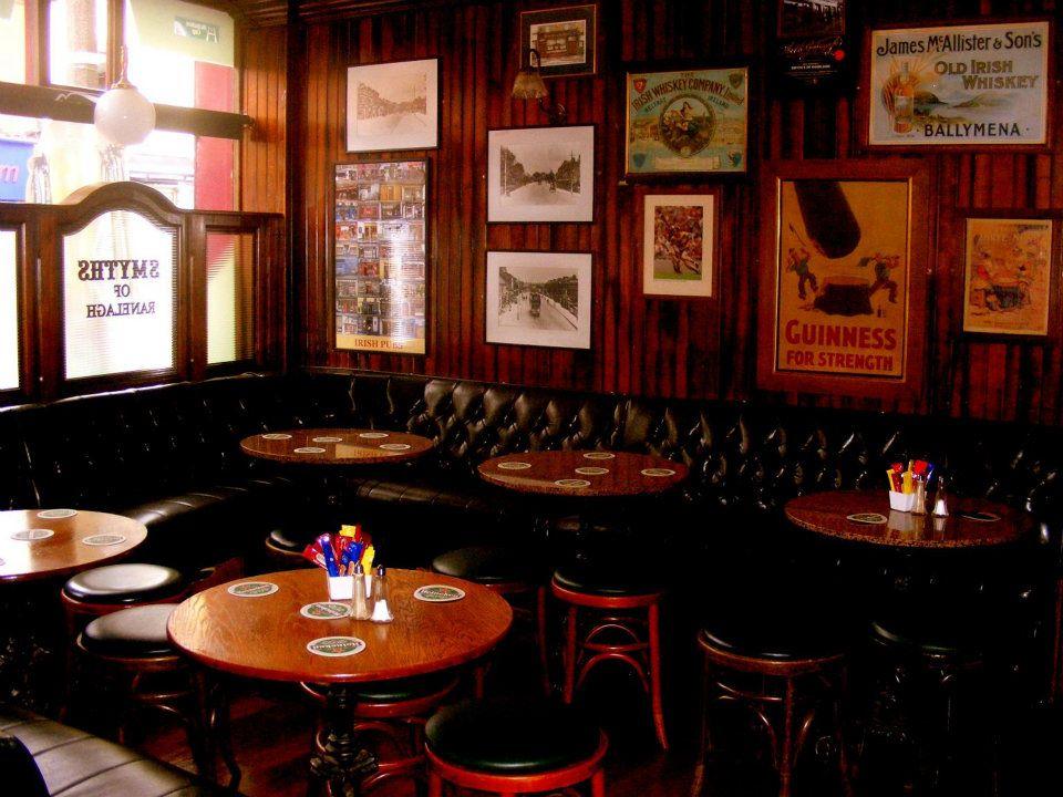 Smyths Bar in Ranelagh