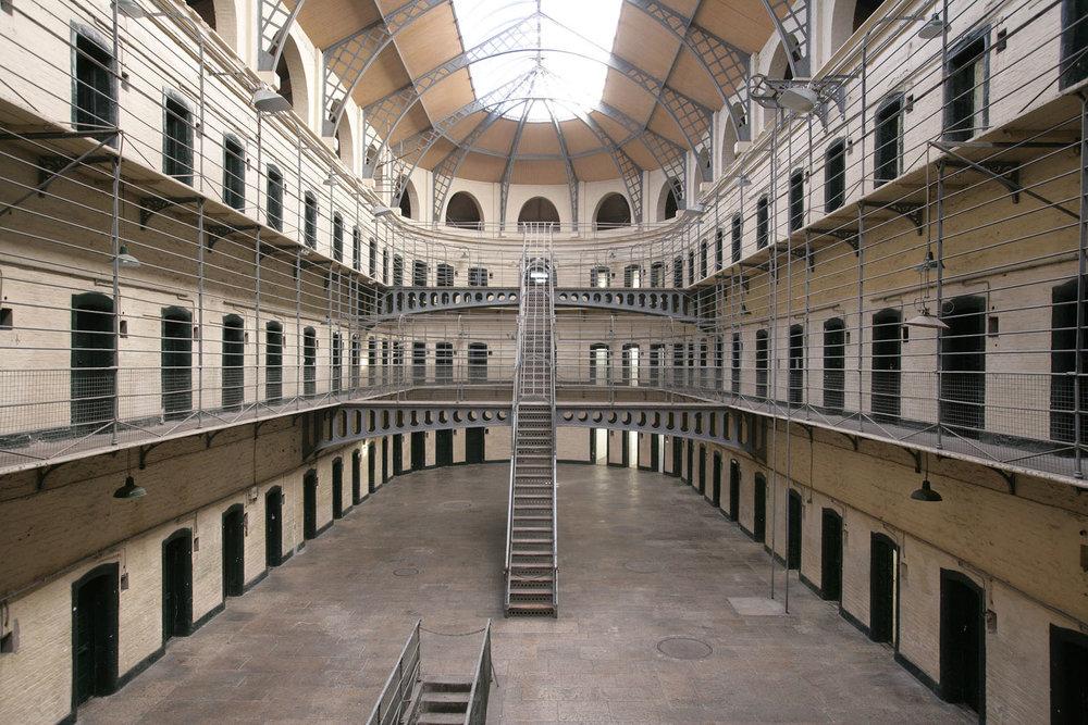 Kilmainham Gaol. Image Credit: National Monuments Service. Dept. of Arts, Heritage and the Gaeltacht.