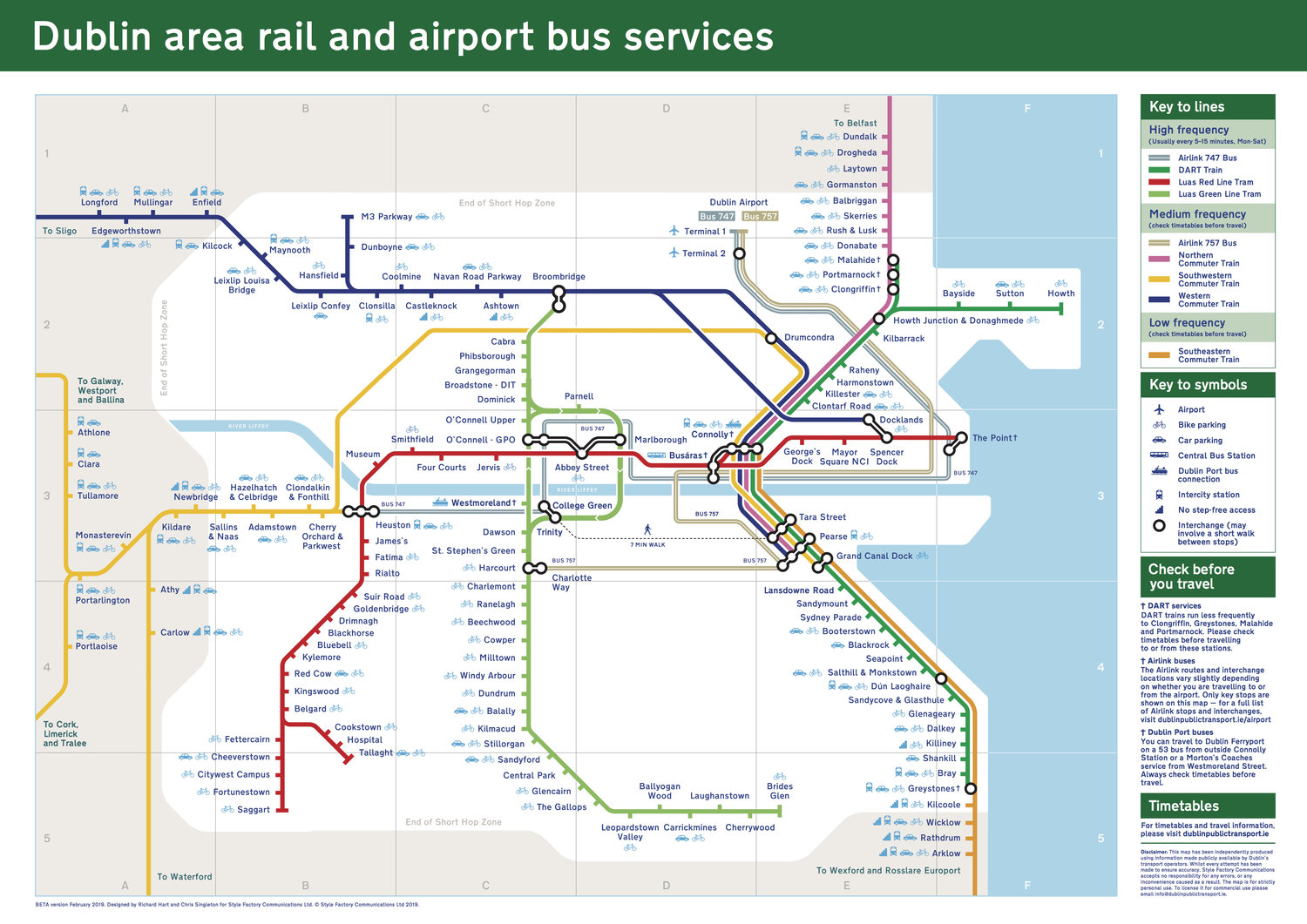 Dublin Public Transport - Maps, Timetables and Information